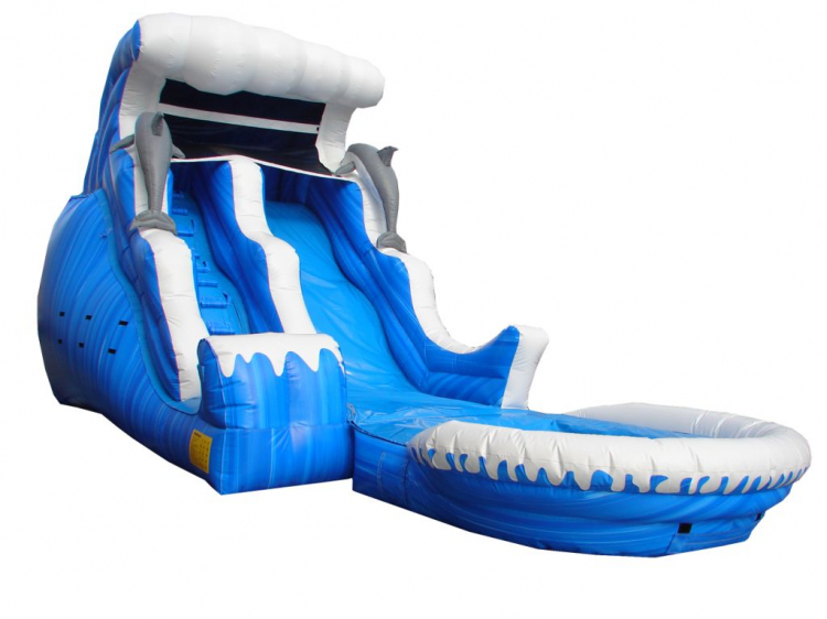 18ft Wave Master Water Slide
