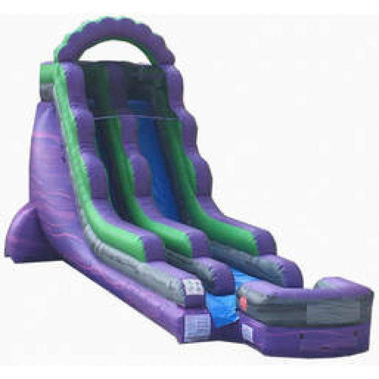 18ft Purple Falls Water Slide