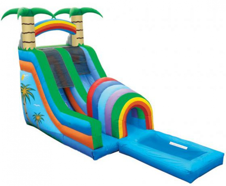 20ft Funnel Tunnel Water Slide
