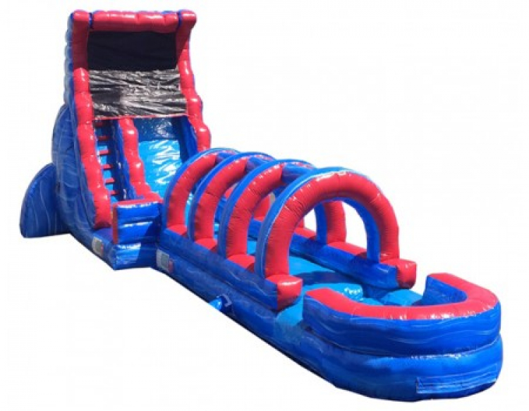 20ft Blue Thunder With Slip N Slide