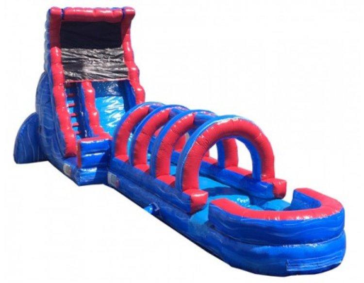 20ft Blue Thunder With Slip N Slide