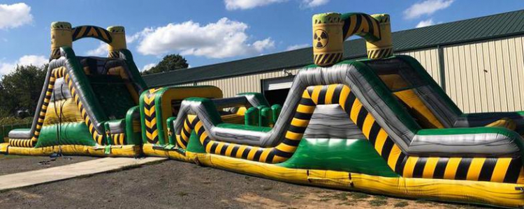 Toxic WATER Obstacle Course