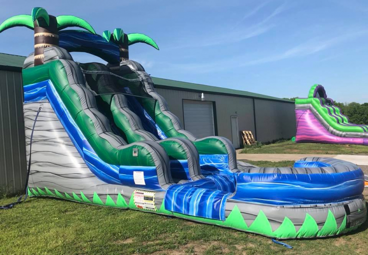 15ft Cascade Crush Water Slide