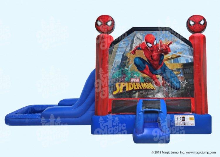Spider Man Combo w/ Pool