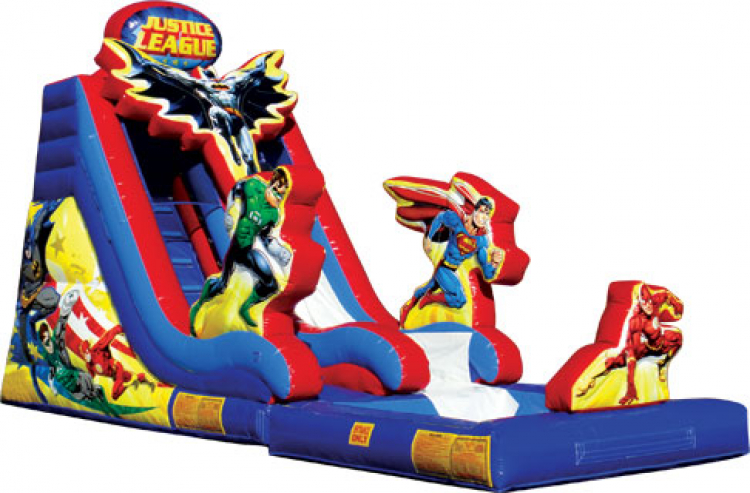 18ft Justice League Water Slide