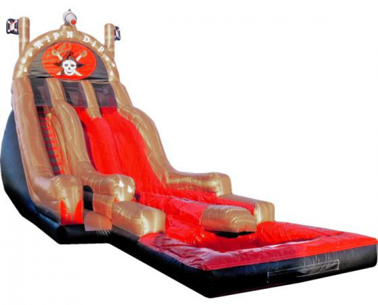 21ft Pirate Rip N Dip Water Slide