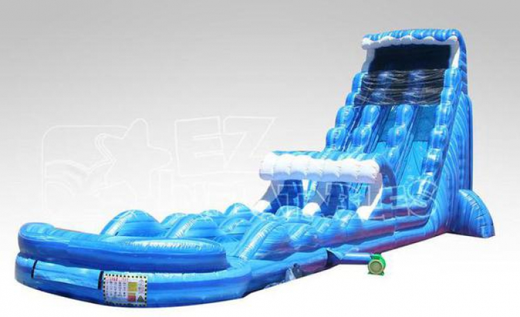 27ft Tidal Wave Water Slide