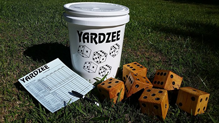 Yardzee Giant Dice Game