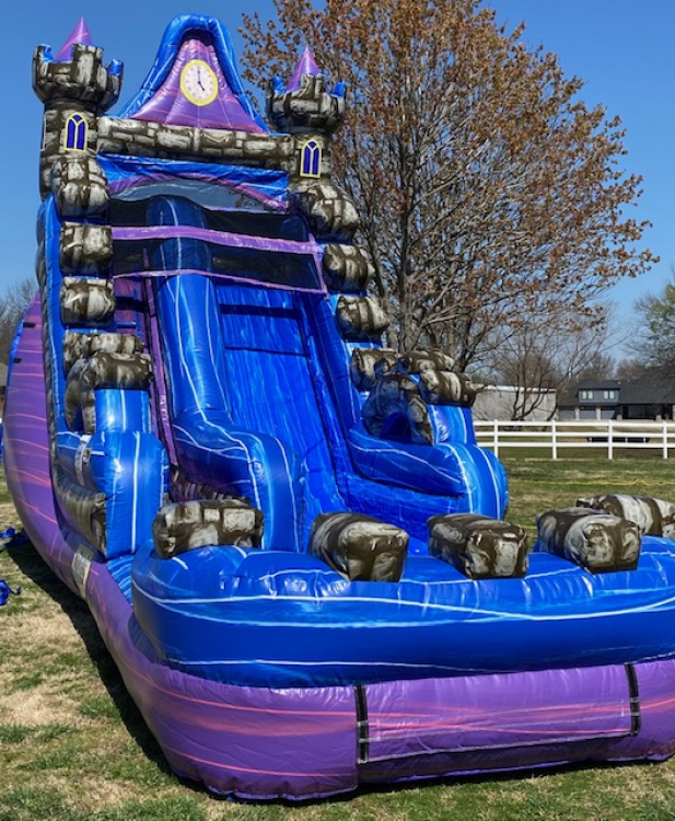 16ft Magic Castle Water Slide