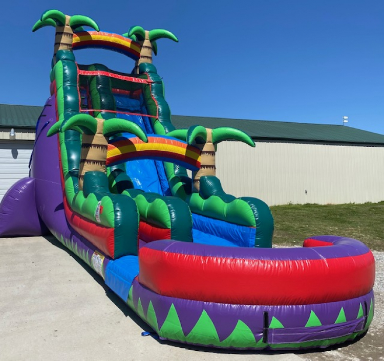 22ft Purple Paradise Water Slide