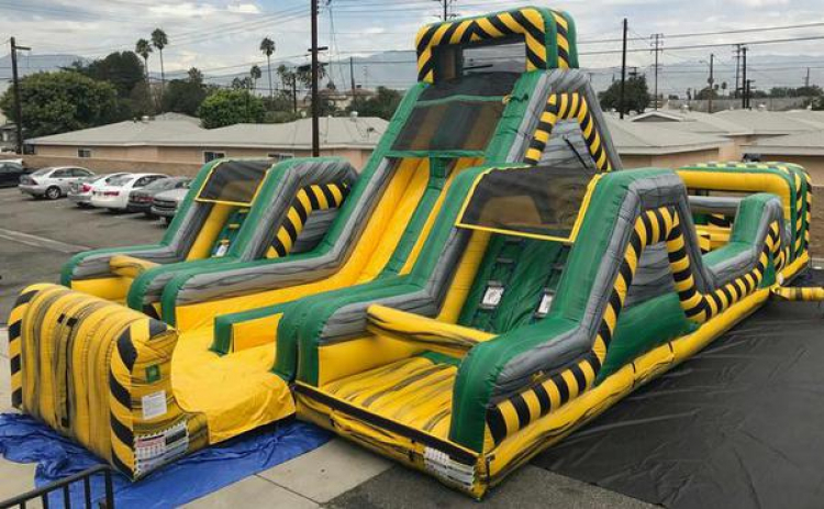 Toxic Challenge WATER Obstacle Course