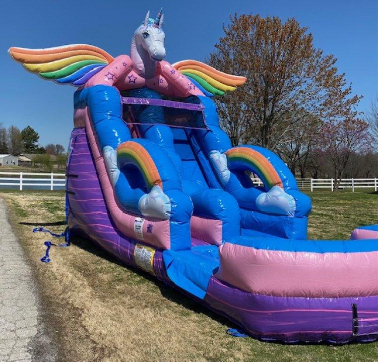 16ft Unicorn Water Slide