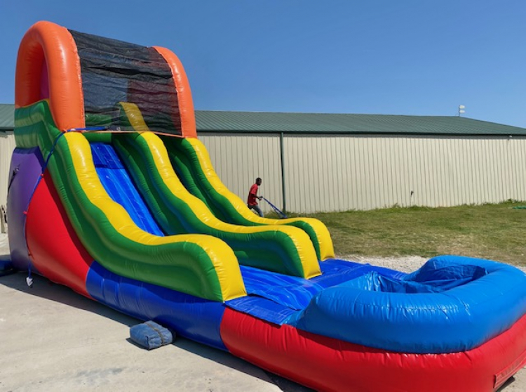 15ft Fun Water Slide