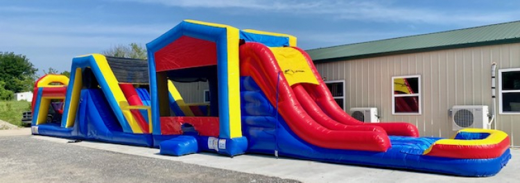 65ft Ultimate Obstacle Course (Wet)
